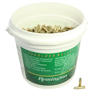 Remington Golden Bucket 22 Long Rifle 1400rd Ammo