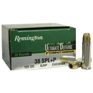 Remington Ultimate Defense Handgun 38 Special 20rd Ammo