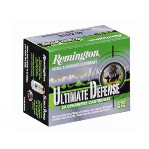 Remington Ultimate Defense Handgun 380 ACP 20rd Ammo