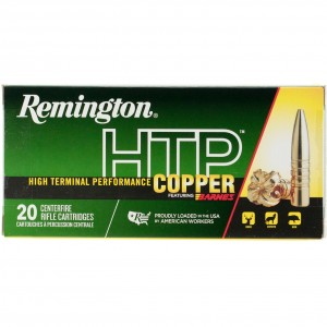 Remington HTP Copper 300 Winchester Magnum 20rd Ammo