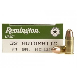 Remington UMC Handgun 32 ACP 50rd Ammo