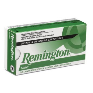 Remington UMC Handgun 380 ACP 100rd Ammo
