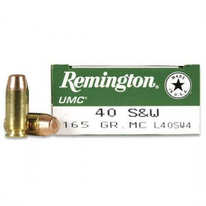 Remington UMC Handgun 40 Smith & Wesson 50rd Ammo