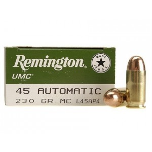 Remington UMC Handgun 45 ACP 250rd Ammo