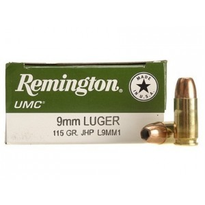 Remington UMC Handgun 9mm Luger 100rd Ammo
