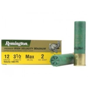 Remington Premier HV Magnum Turkey 12 Gauge 4 Shot 10rd Ammo