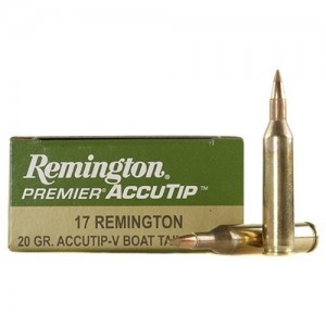 Remington Ammunition .17 Rem. AT 20 Gr. 20 Rd. Box