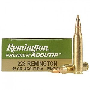 Remington Premier AccuTip 223 Remington 20rd Ammo