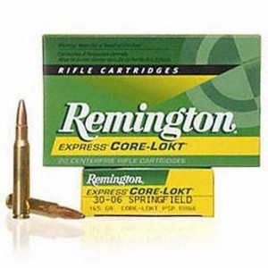 Remington Hypersonic Rifle Bonded 30-06 Springfield 20rd Amm