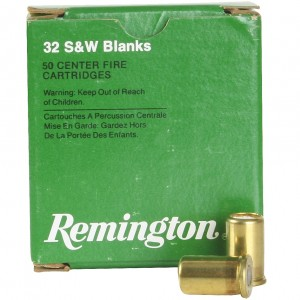Remington 32 Smith & Wesson 50rd Blanks