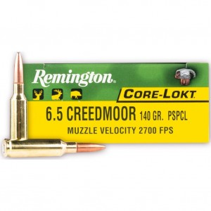 Remington Core-Lokt 6.5 Creedmoor 20rd Ammo