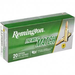 Remington Premier Match 6.5 Grendel 20rd Ammo