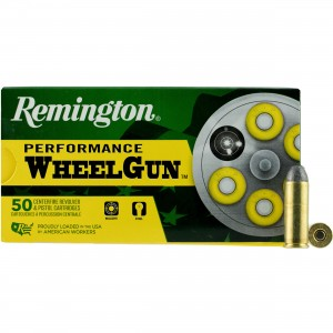 Remington Performance WheelGun 45 Colt 50rd Ammo