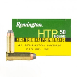 Remington High Terminal Performance 41 Rem Mag 50rd Ammo