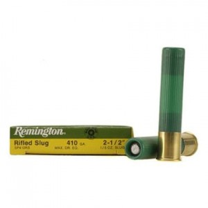 Remington Slugger 410 Gauge Rifle Slug 5rd Ammo