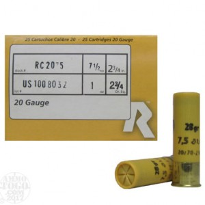 Rio Game Load 20 Gauge 7.5 Shot 25rd Ammo