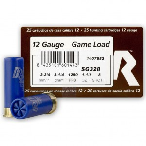 Rio Game Load 12 Gauge 8 Shot 25rd Ammo