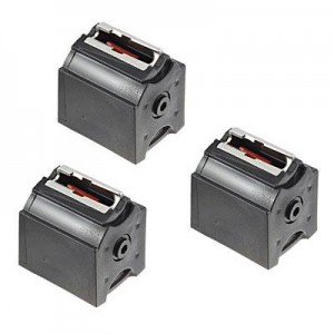 Ruger 10/22 22 Long Rifle 10rd Rotary Magazine 3-Pack