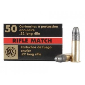 RWS Professional 22 Long Rifle 50rd Ammo