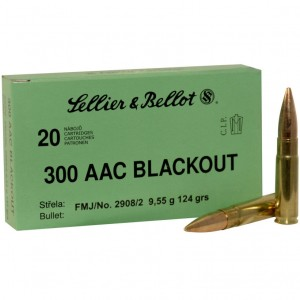 Sellier & Bellot Rifle 300 AAC Blackout 20rd Ammo