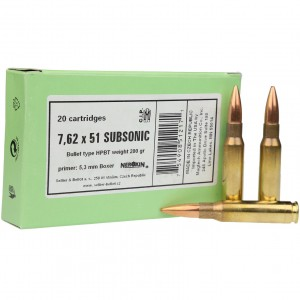 Sellier & Bellot Rifle 7.62x51 20rd Ammo