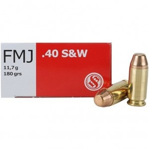 Sellier & Bellot Handgun 40 Smith & Wesson 50rd Ammo