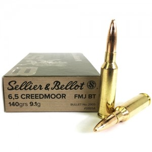 Sellier & Bellot Tactical 6.5 Creedmoor 20rd Ammo