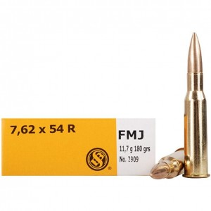 Sellier & Bellot Rifle 7.62x54R 20rd Ammo