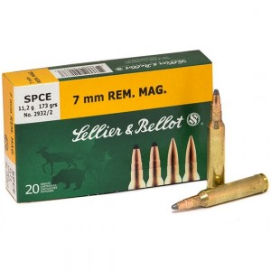 Sellier & Bellot Rifle 7mm Remington Magnum 20rd Ammo