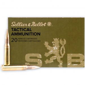 Sellier & Bellot Tactical 30-06 Springfield 20rd Ammo