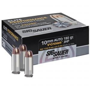 Sig Sauer Defensive 10mm Auto 20rd Ammo