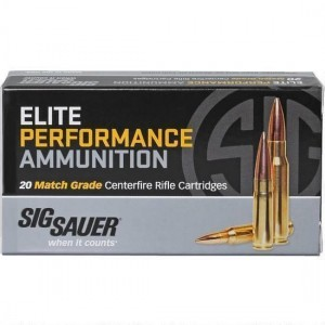 Sig Sauer Match 223 Remington 20rd Ammo