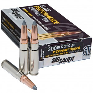 Sig Sauer Hunting 300 Blackout 20rd Ammo