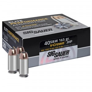 Sig Sauer Defensive 40 Smith & Wesson 20rd Ammo