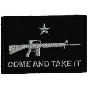 SME Come and Take It Flag AR Patch