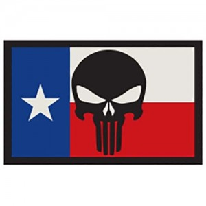 SME Texas Flag w/ Punisher Patch