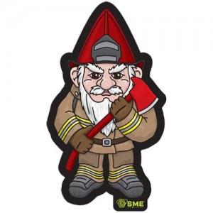 SME Gnome Firefighter Patch