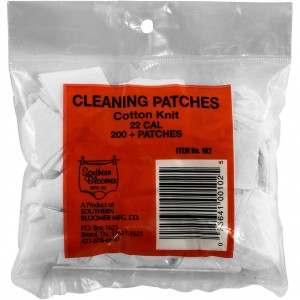 Southern Bloomer Cotton Knit Cleaning Patches