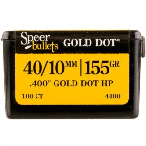 Speer Gold Dot Personal Protection 40 Caliber 100rd Bullet