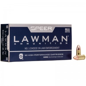Speer Lawman 9mm Luger 50rd Ammo