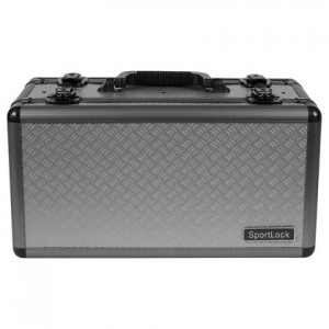 SportLock AlumaLock Double-Sided Handgun/Range Case