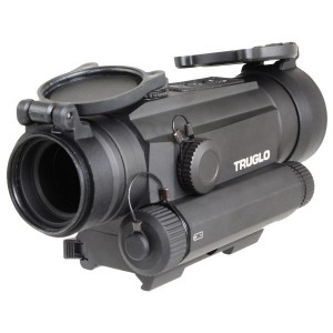 Truglo 1x30 Tru-Tec Red Dot Sight w/ Integrated Green Laser