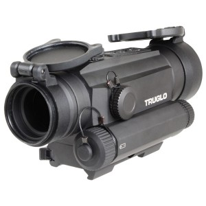 Truglo 1x30 Tru-Tec Red Dot Sight w/ Integrated Red Laser