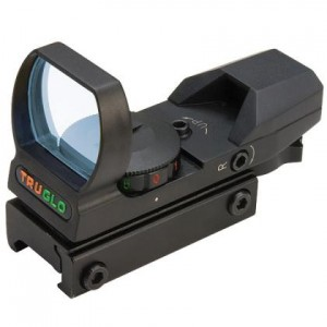 Truglo 1x34 Dual Color Red Dot Open Sight
