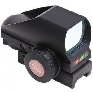 Truglo 1x34 Crossbow Dual Color Open Red Dot Sight