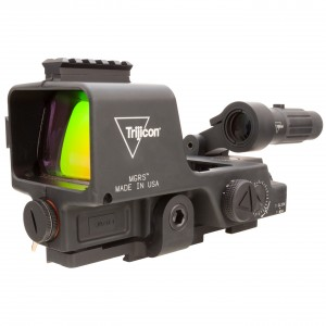 Trijicon 1x MGRS Reflex Sight with 3x MGRS Magnifier