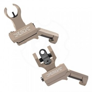 Troy HK Front and Round Rear Offset Sight Set