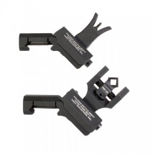 Troy M4 Front and Dioptic Rear Offset Sight Set