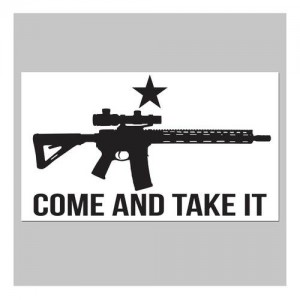 United States Tactical Come And Take It Sticker