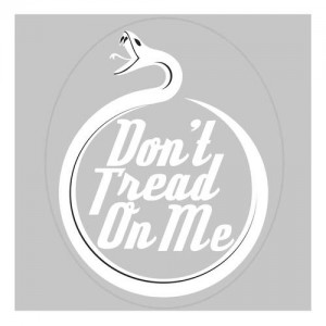 United States Tactical Don't Tread On Me Sticker